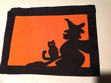Hallowen Placemats Set of 4, with matching Napkins