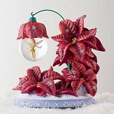 Disney Tinker Bell Holiday Snowglobe With Stand ~ Christmas decoration ornament