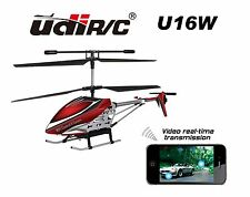 Udi / Rc U16w Coaxial - Helicopter Wifi Iphone Ipad Controlled Helicopter Blue