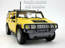 Hummer H2 2003 Diecast Metal 1/27 Model by Maisto - YELLOW