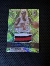 2016-17 Spectra Basketball Rajon Rondo Green Catalysts #d/25