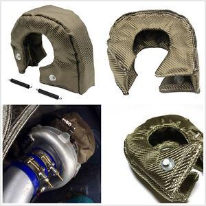 New Practical Car T3 Titanium Turbo Heat Shield Blanket Turbocharger Wrap Cover