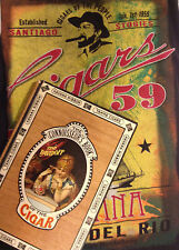 Tobacciana Book & T-Shirt LOT/Connoisseur's Book of the Cigar & '59 Habana' XL