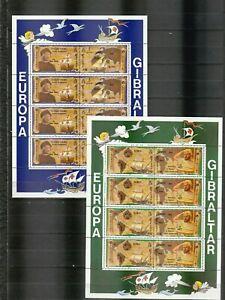 s37763 GIBRALTAR EUROPA CEPT MNH** 1992 MSx2