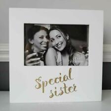 "Special Sister White Box Photo Frame 6x4"""