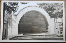 Aylmer, ONT Bandshell. RPPC, Bradt Studio unused postcard