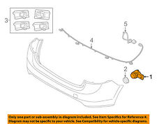 VOLVO OEM XC70 Parking Aid Backup Back Up Reverse Proximity-Sensor 31445162