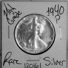 1940 Walking Liberty Silver Half Dollar HIGH Grade Rare US Coin #120161