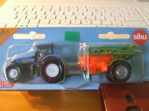 SIKU 1668 New Holland Tractor with Crop Sprayer, 1:87, BNIB