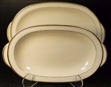 Thomas Ivory Bavaria Serving Platters 2 Sizes Small and Medium - Pattern 01915