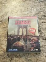 NEW Lucio Fulci's ZOMBIE blu-ray 4k restoration LIMITED 3-D SLIPCASE dvd cover A
