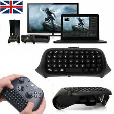 2.4G Wireless Keyboard Chatpad For Xbox One Controller GAMING KEYPAD Black UK