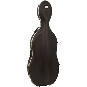 Bellafina ABS Cello Case with Wheels 3/4 Size