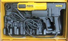 REMS Pressmaschine Power Press Nummer 577011 im Stahlblechkoffer Sanitär Heizung