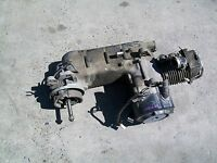 2009 PIAGGIO FLY 150 ENGINE MOTOR NO STARTER (HAS SMALL DAMAGE) #1-7 I
