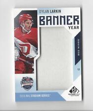 2016-17 SP Game Used Banner Year Stadium Series 16 Dylan Larkin BANNER Red Wings