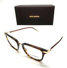 Dolce & Gabbana DG 3319 502 Havana Men Authentic Eyeglasses Frame 52-20