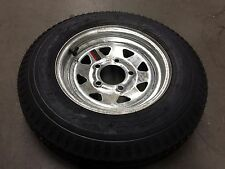 "12"" Galvanized Trailer Rim Tire Wheel Assembly 4.80-12  5H Cply 30670"