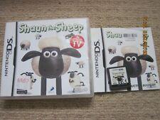 SHAUN THE SHEEP  - Rare Nintendo DS Game
