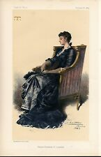 ENGLISH LADY GLADYS COUNTESS OF LONSDALE COMMANDS ADMIRATION VANITY FAIR FASHION