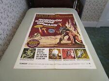 Vintage Robinson Caruso On Mars movie poster - 1964
