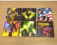 1st Batch This Set 6 Superhero-Marval Canvas Pictures 6 By 6 Inch Each 1