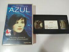 Azul Juliette Binoche Krzysztof Kieslowski - Pelicula VHS Castellano