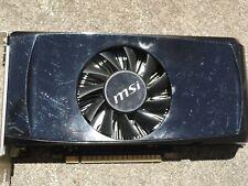 MSI Geforce GTX 550 ti Video Card 1GB PCI-E DVI HDMI VGA N550GTX-Ti MD1GD5v2