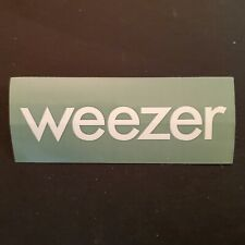 Promotional-only Weezer Maladroit Sticker 2002 Geffen Promo New