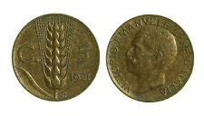 pcc1280_2)  Vittorio Emanuele III cent 5 spiga  1921