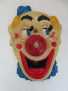 "Vintage Clown ""Flicko"" Light Switch Plate Falcon Plastic Prods Culver City CA"