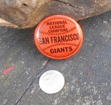 1962 NL Champions San Francisco Giants Stadium Souvenir Pin