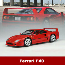 GTspirit 1:18 Scale Ferrari F40 1987 Red Resin Car Model Fully Closed Collection