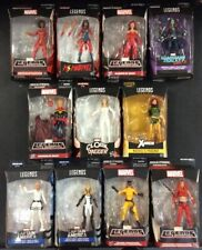 WOMEN OF MARVEL LEGENDS ACTION FIGURE LOT OF 11 NO BAF SCARLET WITCH PHOENIX
