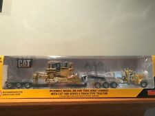 Norscot CAT Peterbilt 389/Lowboy with CAT D8R Series II Dozer 1:50 Scale 55207