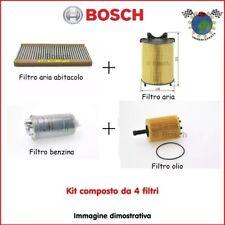 Kit 4 filtri tagliando Bosch AUDI A4 VW PASSAT (3B5) PASSAT (3B2)