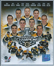 Boston Bruins  Patrice Bergeron  2011 Stanley Cup Champions  8X10 Color Photo
