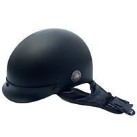 Harley Davidson Classic Cruiser Matte Black Size XS Half Shell Motorcycle Helmet