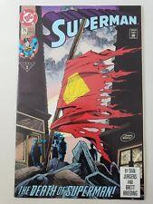 SUPERMAN #75 (1993) DC COMICS DOOMSDAY! DEATH OF SUPERMAN! 3RD PRINT VARIANT