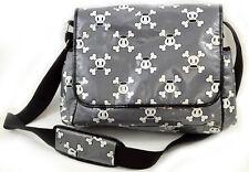 Paul Frank Bag Messenger Diaper Bag Skull Bones Pack