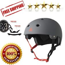 Bike Skateboard Helmet Roller Skates Scooter Protective Gear Matte Small Medium