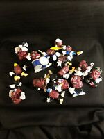Vintage California Raisins Vintage PVC Figures LOT  from the 80's - set 1
