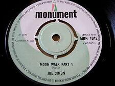 "JOE SIMON-MOON WALK (partie 1) 7"" vinyle"