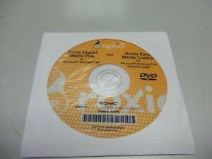Roxio Sonic Digital Media Plus & Roxio Easy Media Creator Windows XP Vista DVD