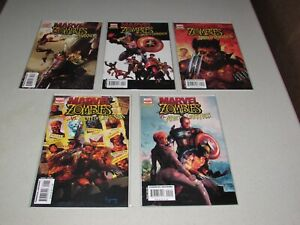 MARVEL ZOMBIES vs ARMY OF DARKNESS  #1 - 5  (Complete Series)