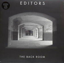 EDITORS THE BACK ROOM VINILE LP + DOWNLOAD CODE NUOVO SIGILLATO