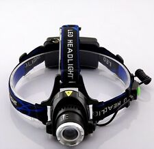 headlamp T6 led 2000 Lumens Frontale Head Torch Light For Fishing Hiking Lampe