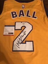 9d2d83973a6 Lonzo Ball Signed Autographed Los Angeles Lakers Jersey! PSA!