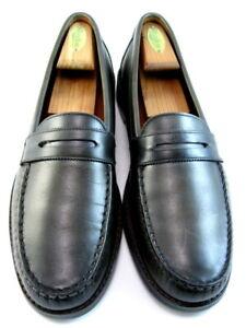 """Allen Edmonds """"DYLAN"""" Casual Penny Loafers 11 D Burnished Olive  (568)"""