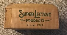 ART DECO WAFFLE IRON  SUPERIOR  SUPERLECTRIC  WITH BOX AND CORD  C. 1930'S  772